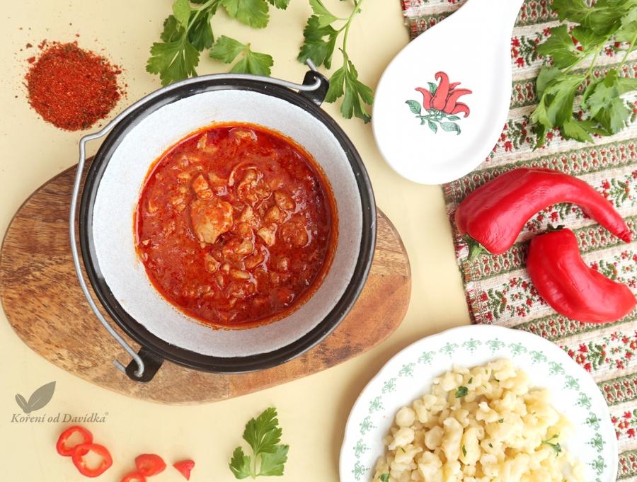 Maďarský paprikáš