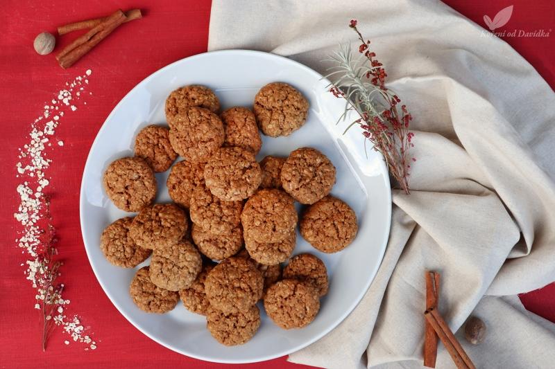 Vegánske ovesné cookies