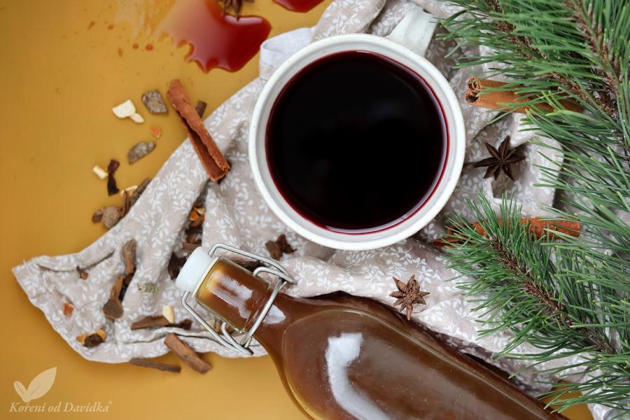Sirup do vareného vína
