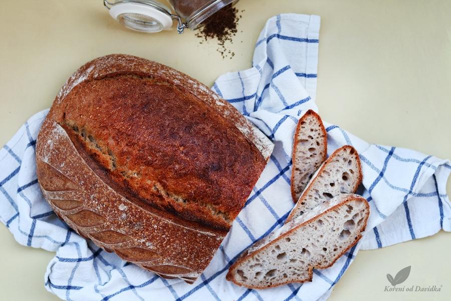 Klasický domáci chlieb