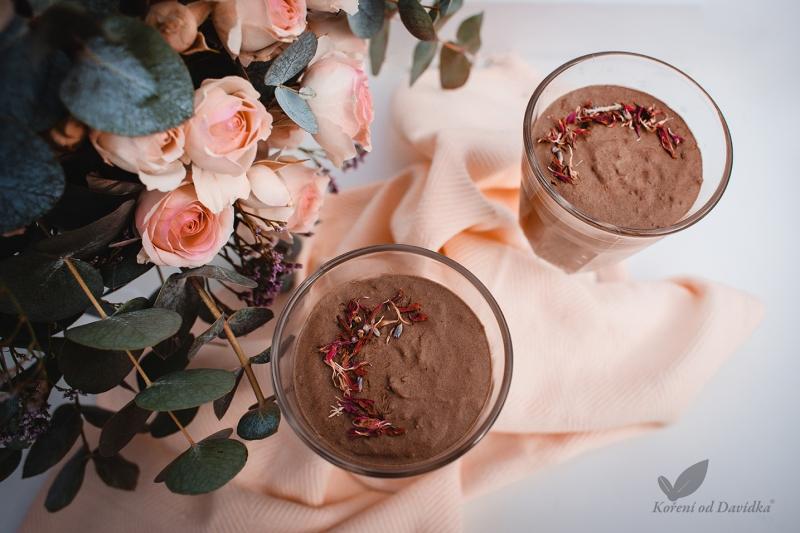 🇫🇷 Pařížská čokoládová pěna s kokosovým mlékem
