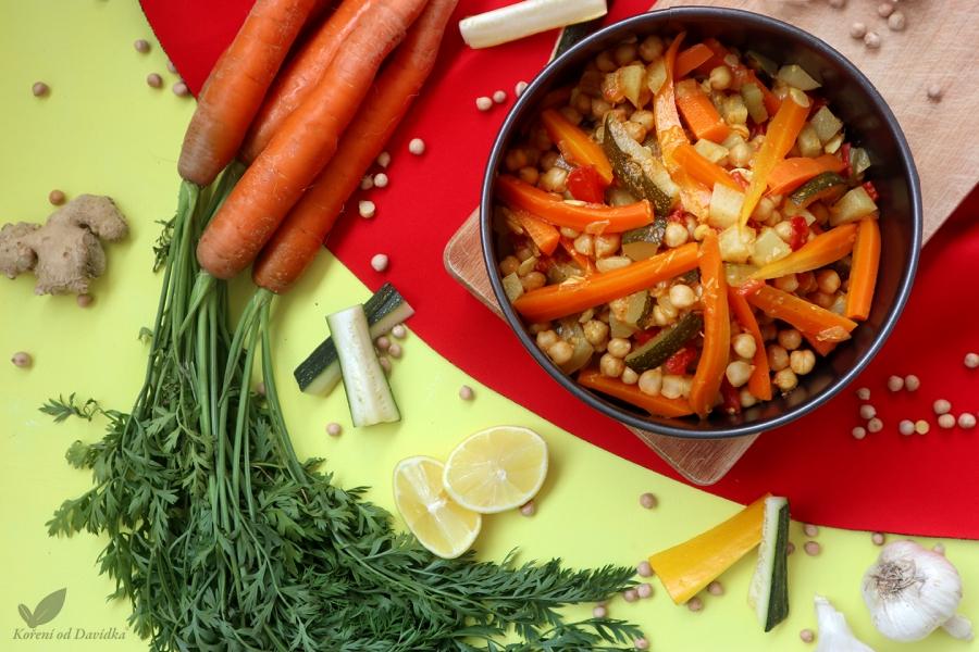 Zeleninový tajine s cícerom