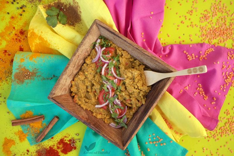 🇮🇳 Indický šošovicový Dhal
