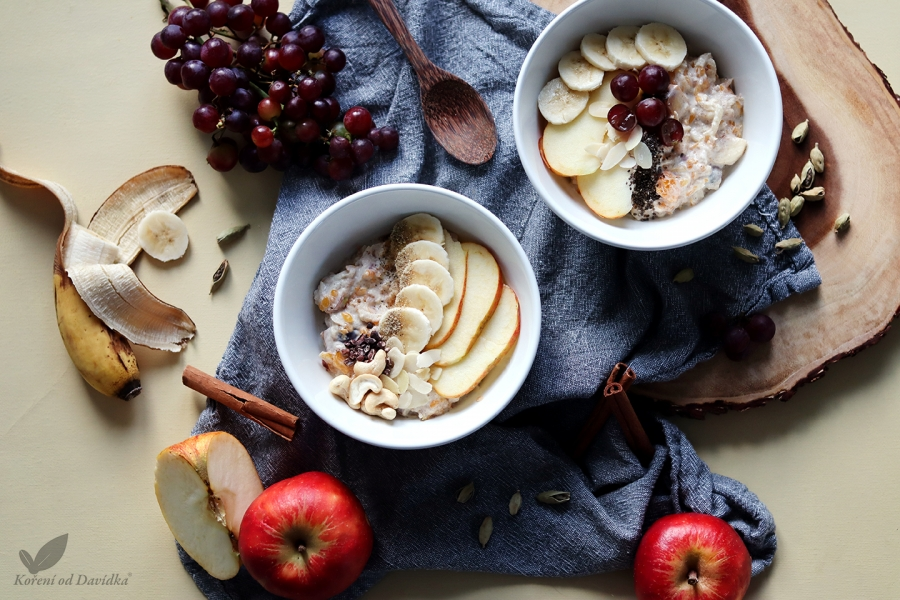Zimný ovocný šalát