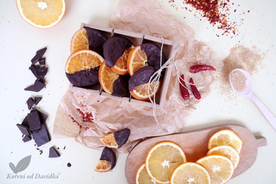 Pomaranč v chilli čokoláde
