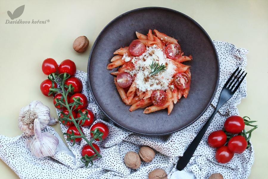 Cestoviny s brynzovou omáčkou z pečených paradajok