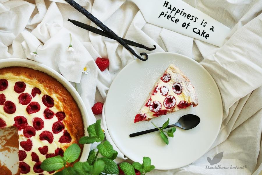 Letní tvarohovo-pohankový koláč s ovocem