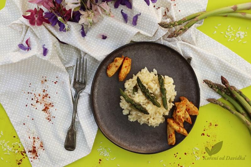 Talianské rizoto so špargľou